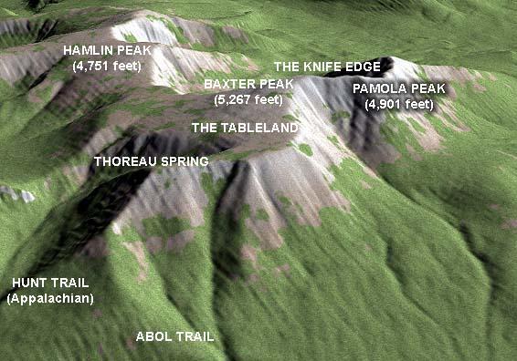 JSD Photo Gallery Climbing Mt Katahdin - Mt katahdin trail map